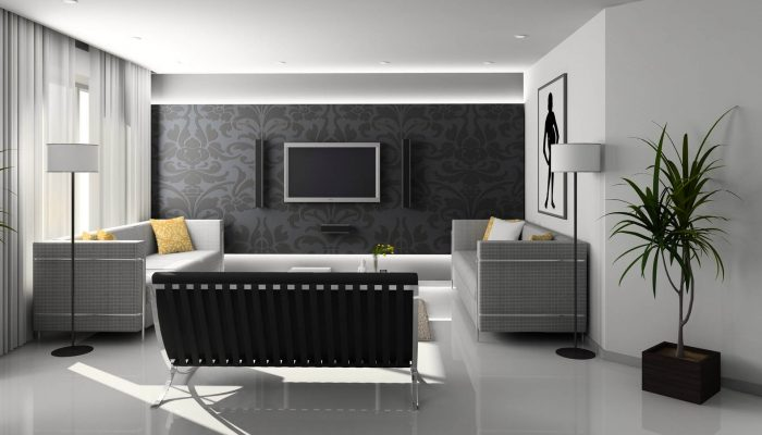 gray family room