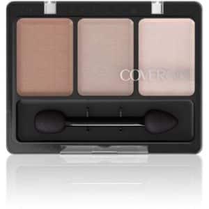 packaging of Cover Girl kit of 3 nude eyeshadows