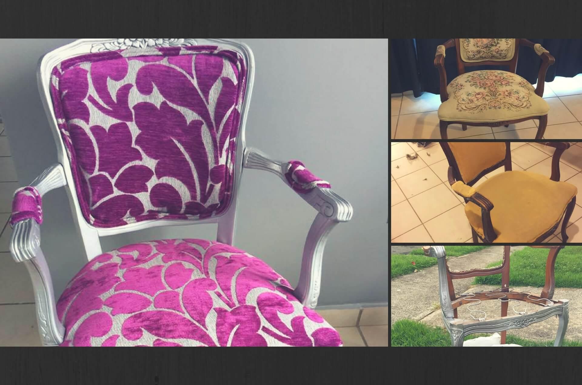 Tapizar una silla victoriana paso a paso bellisima for Como tapizar una silla