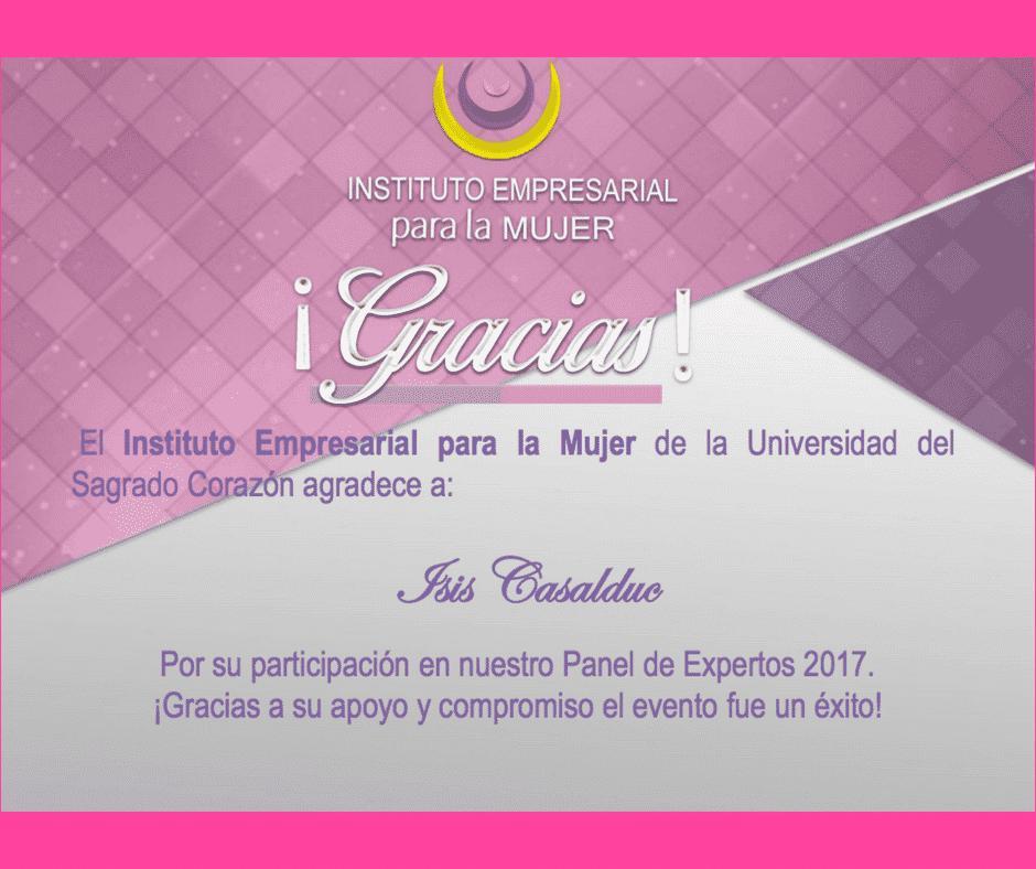 certificado de participación en tonos rosa